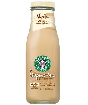 Starbucks Vanilla Frappuccino 13.7 oz