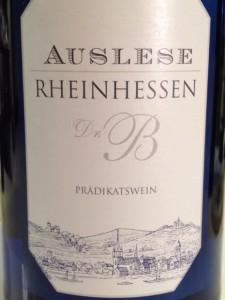 Beckermann Auslese Rheinhessen