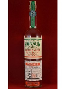 Hanson of Sonoma Habanero Flavored Organic Vodka