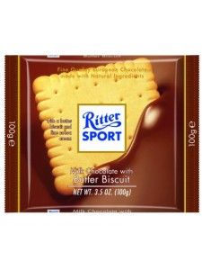 Ritter Sport Milk Chocolate with Butter Buscuit