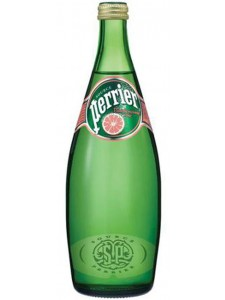 Source Perrier Pink Grapefruit Sparkling Water 750ML