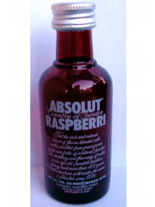 Absolut Raspberri Vodka 50ML