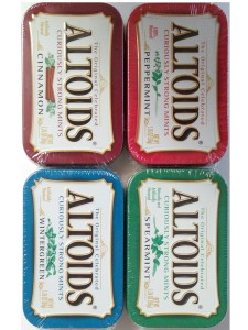 Altoids Curiously Strong Mints