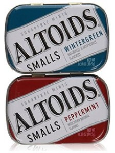 Altoids Smalls Sugar Free Mints