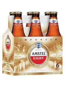 Amsdel Light chilled 6-pack bottles