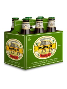 Anchor IPA Cold six pack bottles