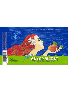 Anchor's Mango Wheat Beer 6-pack cans