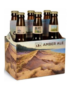 Bell's Amber Ale cold six pack bottles