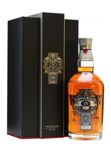 Chivas Regal 25 Year Old Blended Scotch Whisky, Scotland