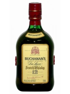 Buchanan's De Luxe 12 Years Blended Scotch
