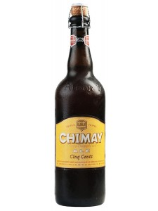 Chimay Cinq Cents Ale chilled pint