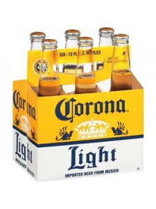 Corona Light 6-pack cold bottles
