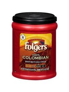 Folgers 100% Columbian Ground Coffee