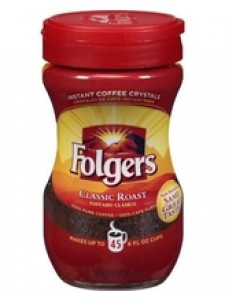 Folgers Classic Roast Instant Coffee