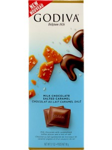 Godiva Milk Chocolate, Salted Caramel