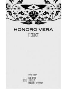 2014 HONORO VERA MERLOT