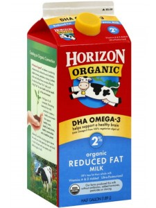 Horizon Reduced Fat Milk 2 Qt Carton