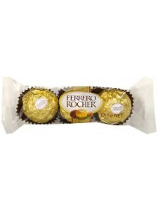 Ferrero Rocher 3 pack of chocolates
