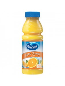 Ocean Spray 100% Orange Juice 15.2 oz.