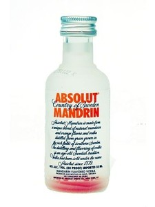 Absolut Mandrin Vodka 50ML