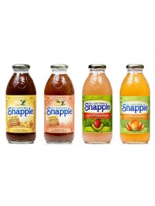 All Natural Snapple Flavor Variaties 16 fl.oz.