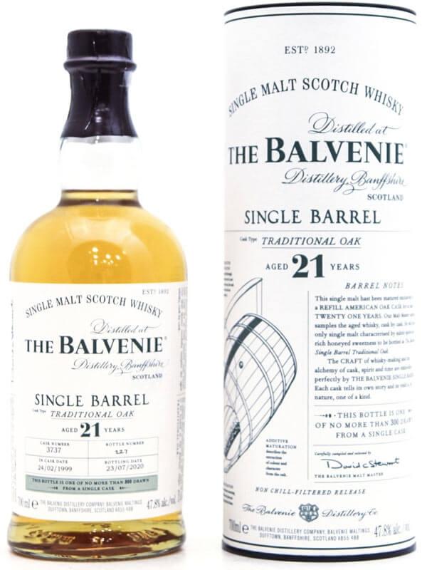 Balvenie Whisky mit vielfältigem Aroma und Charakter