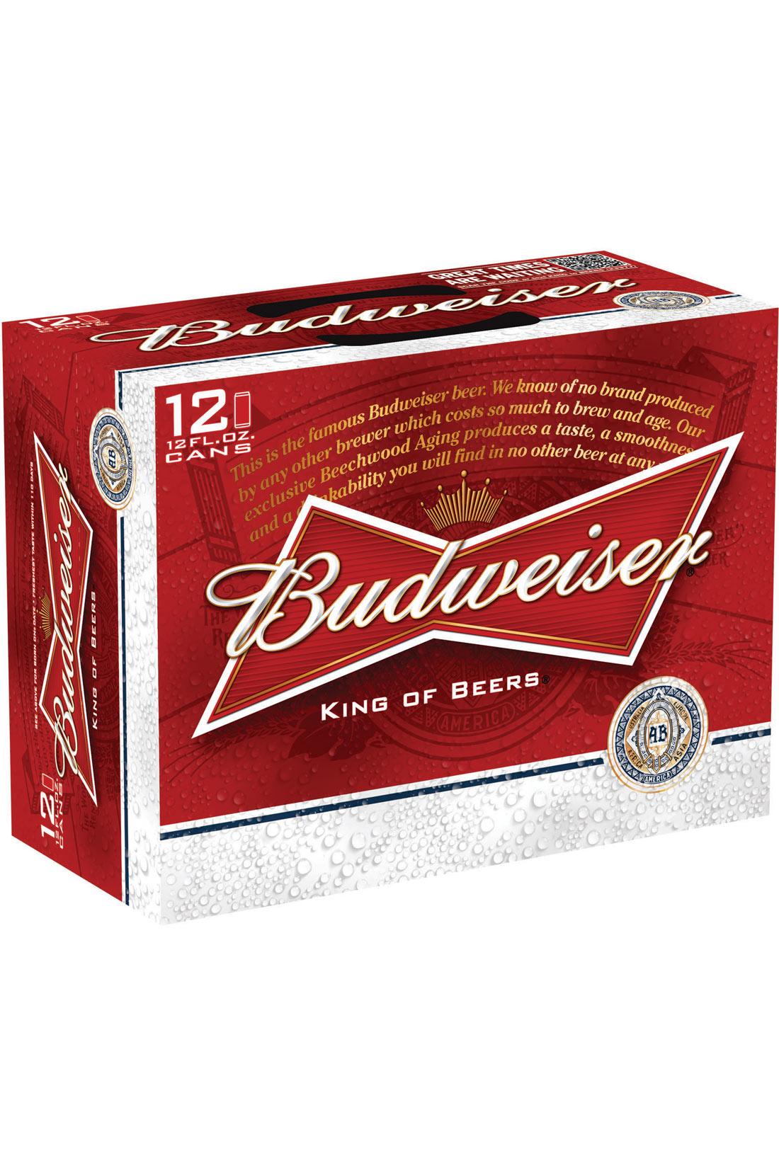 Budweiser Gift Baskets Budweiser 12 Pack 12 Oz Cans Call