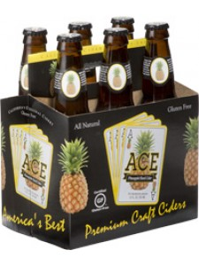 Ace Pineapple Hard Cider 6-Pack Bottles
