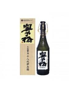 Okunomatsu Daiginjo Shizukuzake Juhachidai Ihei Sake 720ml