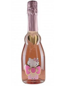 Hello Kitty Sweet Pink Sparkling Rose