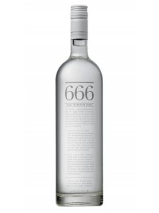 666 Pure Tasmanian Vodka