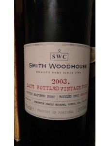 Smith Woodhouse 2003 Late Bottled Vintage Porto
