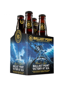 """Ballast Point Barrel Aged 'Victory at Sea"""" 4-Pack"""
