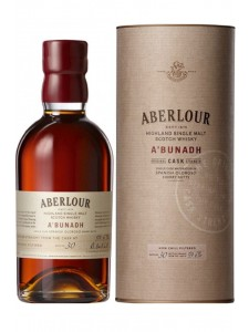 Aberlour A'Bunadh Cask Strength Highland Single Malt Scotch