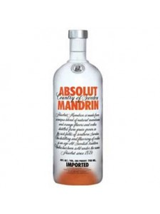Absolut Mandrin VODKA 750 ML