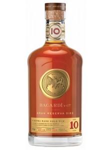 Bacardi Gran Reserva Diez 10 Year Old Rum