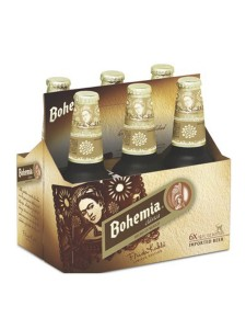 Bohemia Clasica 6-pack cold bottles