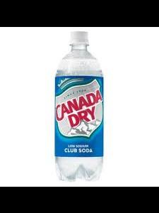 Canada Dry Club Soda 1Ltr