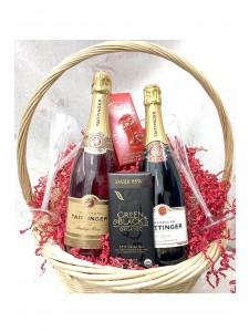 Tattinger Champagne Gift Basket