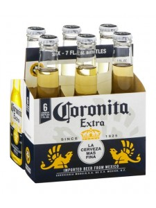 Corona Extra 6-pack 7 oz. cold bottles