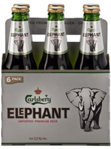 Carlsberg Elephant Six Pack Cold Bottles