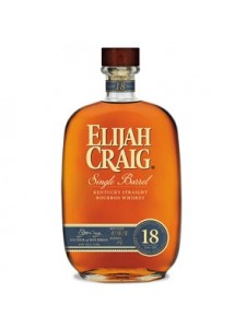 Elijah Craig 18 Year Single Barrel 750ml 2018 Release