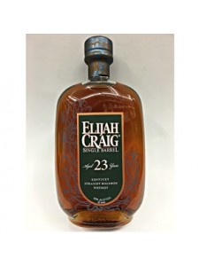 Elijah Craig Aged 23 Years Single Barrel Kentucky Straight Bourbon Whiskey New Bottle