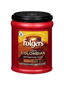 Folgers 100% Columbian Ground Coffee