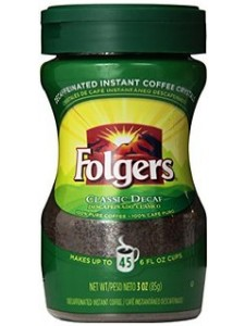 Folgers Classic Decaf Instant Coffee