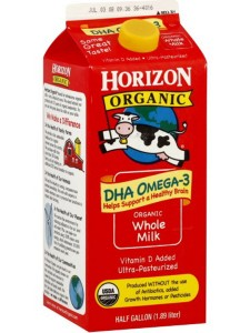 Horizon Whole Milk 2 Qt. Carton