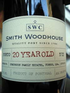 Smith Woodhouse 20 Years Old Tawny Porto