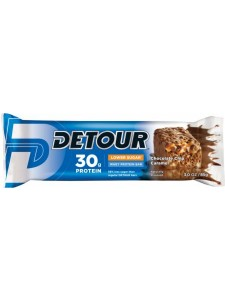 Detour Lower Sugar Whey Protein Bar Chocolate Chip Caramel