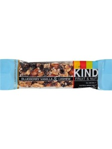 Kind Fruit and Nut Blueberry Vanilla & Cashew