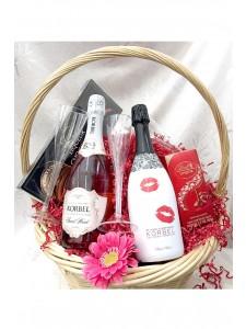 Korbel Champagne Gift Basket